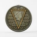 Kodeks Leonardo Da Vinci Niue 2011 5 Rocznica 1 kilo 999 Srebro