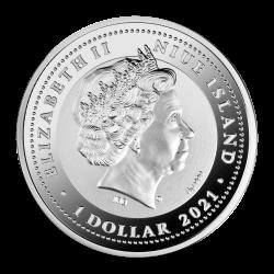 Chinese Dragon Niue 2018 2 Oz 2 Dollars