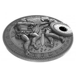 Surykatki Kongo 1000 Francs 2013 1 Oz Srebro