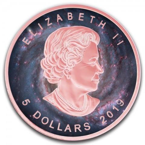 Biedronka Kanada 2011 1 Oz srebro Szkło Murano 20 Dollars