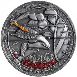 Canonization John Paul II 10 Oz Silver 999 Niue 2014-Amber Gilded