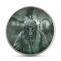 Goryl Kongo  2014 Srebro 1 Oz 2013 1000 Francs