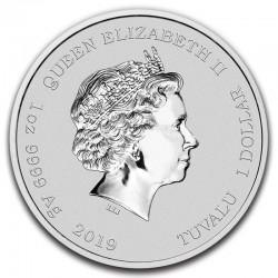 Stworzenie Adama Niue 2013 12x5$ 960 gram!