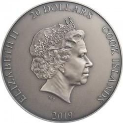 Pro Memoria Jan Paweł II 10 Rocznica Śmierci Niue 2015 2$ 1 oz srebro 999