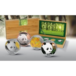 Chomik Mongolia 2015 500 Togrog 1 Oz srebro
