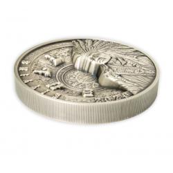 Flagi Stanowe USA 2015 - Mississipi - Walking Liberty 1 $ 1 Oz Nakład 200 sztuk